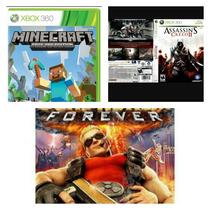 Jogos Xbox Semi-novos Minecraft, Assassin