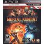 Jogo Ps3 Mortal Kombat Komplete Edition Original Lacrado
