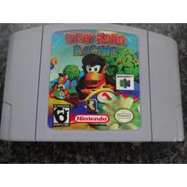 Donkey Diddy Kong Racing Original Americana Fita Nintendo 64