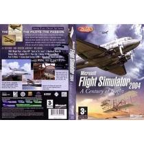 Flight Simulador Fs2004 Completo Tradução Cenários Aeronaves