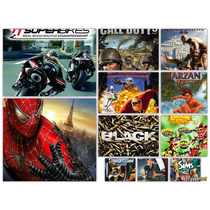 Lote 25 Jogos Patchs Ps2 Play 2 Games A Escolha Frete Gratis