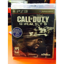Jogo Call Of Duty Ghosts Playstation 3, Novo, Lacrado