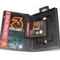Mortal Kombat 3 - Completo! - Sega Genesis