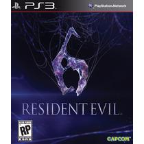Resident Evil 6 Ps3 - Re6 Legendado Em Português