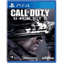 Call Of Duty Ghosts Em Português Mídia Física Ps4 Rcr Games
