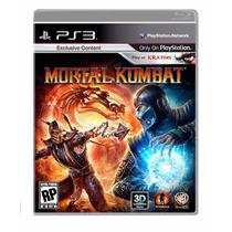 Jogo Mortal Kombat Para Ps3 /semi Novo/barato!!!!
