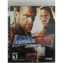 Jogo De Ps3 Wwe Smack Down Vs Raw 2009