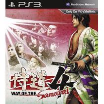 Way Of The Samurai 4 Psn Ps3 Midia Digital Original