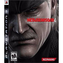 Metal Gear Solid 4: Guns Of The Patriots - Ps3 - Mgs4
