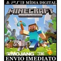 Minecraft Jogo Digital Envio Por Email Cod Ps3