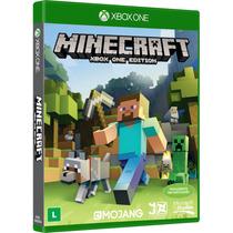 Jogo Minecraft - Xbox One Mídia Física Lacrado Original Novo
