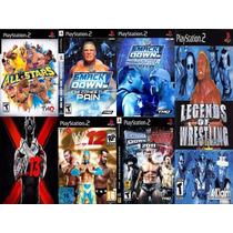 Wwe 13 Playstation 2 (kit 7 Jogos Ps2 Smackdown Vs Raw Luta