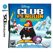Jogo Novo Club Penguin Elite Penguin Force Para Nintendo Ds