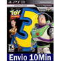 Toy Story 3 The Video Game Ps3 Código Psn