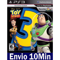 Toy Story 3 The Video Game Playstation 3 Ps3 Psn