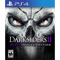 Jogo Ps4 Darksiders Ii 2 Deathinitive Edition Play Station 4