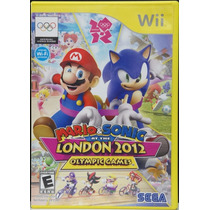 Mario & Sonic At The London 2012 Olimpic Games Wii Usado