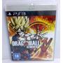 Dragon Ball Xenoverse Ps3 Mídia Física E Lacrado Rcr Games