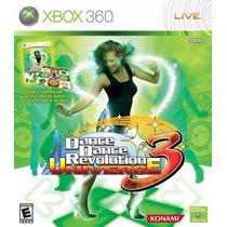 Dance Dance Revolution 3 Universe - Xbox 360 Jogo Original