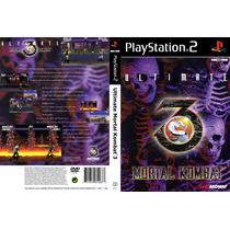 Ultimate Mortal Kombat 3 Ps2 Frete Gratis !!!