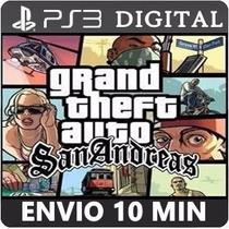 Gta San Andreas Hd Remastered Ps3 Código Psn Jogo Digital