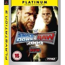 Jogo Ps3 Smackdown Vs Raw 2009 P.e. Original Lacrado