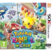 Pokémon Rumble World 3ds Mídia Física Novo Lacrado