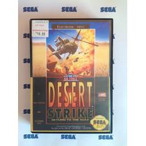 Megadrive - Desert Strike (repro) Com Caixa
