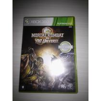 Jogos Xbox 360 Mortal Kombat Vs Dc Universe Original
