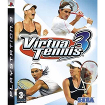 Ps3 Virtua Tennis 3 [usado]