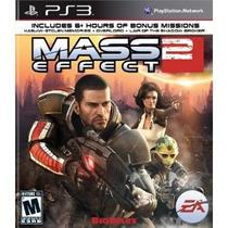 Jogo Ps3 Mass Effect 2 Original E Lacrado Mídia Física