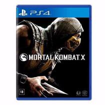 Mortal Kombat X Ps4 Mídia Física! O Mais Barato Do Ml!!!