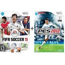 Pes 2012 + Fifa 11 - Midia Fisica, Lacrado - Nintendo Wii