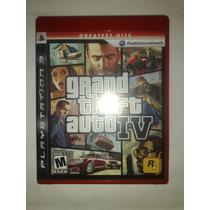 Gta 4 Grand Theft Auto Iv Ps3 + Sedex 10,00