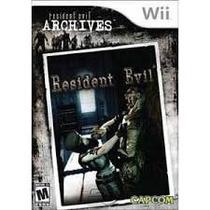 Resident Evil Archives Wii Dvd Mídia Física