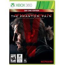 Metal Gear Solid V The Phantom Pain Xbox 360 Midia Física Pt