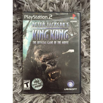 Novo Jogo Aventura King Kong Original Ps2 Caixa Manual 100%