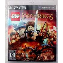 Jogo Lego Senhor Dos Anéis / Lord Of Rings Ps3 Frete Barato