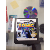 Sonic Colors Nds 3ds 2ds Apenas O Game Original !