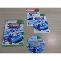 Sonic All Stars Racing - Xbox 360 - Completo - Corrida