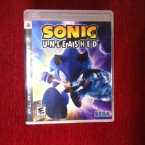 Jogo Ps3 Sonic Unleashed