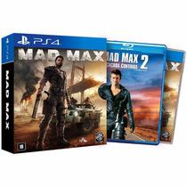 Mad Max Ps4 C/ Filme Rcr Games