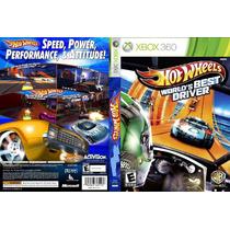 Hot Wheels Worlds Best Driver Xbox 360 Original Frete R$8,00