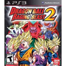 Jogo Ps3 Dragon Ball Raging Blast 2 Original Lacrado