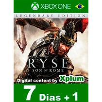 Aluguel Ryse: Son Of Rome Xbox One Br Digital - 7 Dias