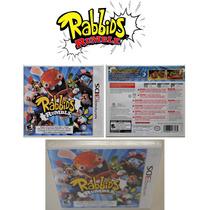 Rabbids Rumble Original Nintendo 3ds Americano L A C R A D O