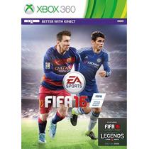Fifa 16 - Xbox 360 - Português - Novo - Mídia Física