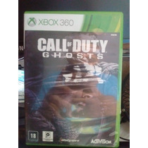 Jogo Xbox 360 - Call Of Duty Ghosts