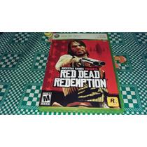 Red Dead Redemption Completo Original Americano Xbox360