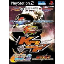 The King Of Fighters 10 In 1 Ps2 Patch Com Capa E Impressão